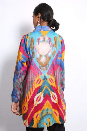 Generation - Multi Color Molten Ikat Top - 1 PC