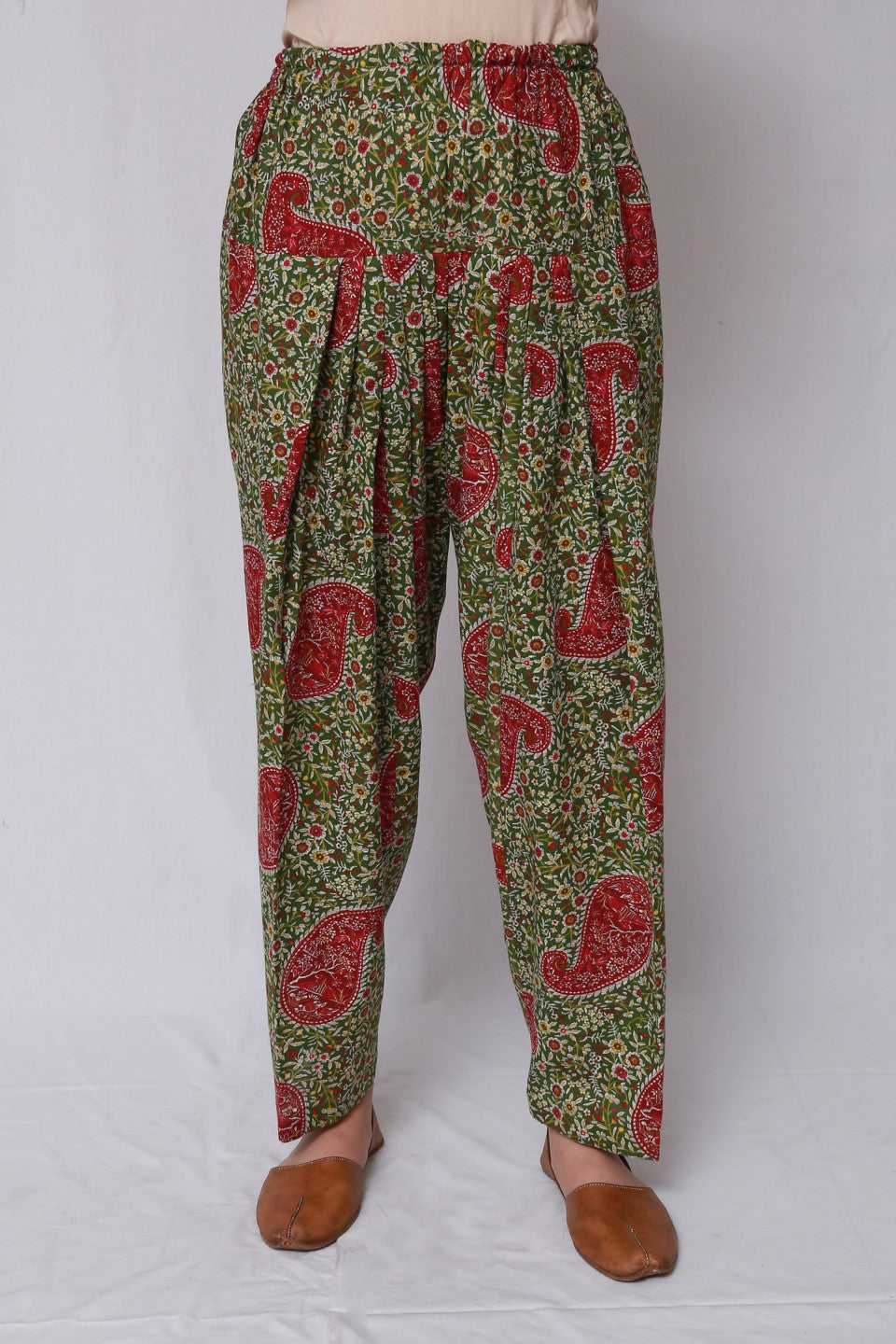 Generation - Green Parsi Shalwar