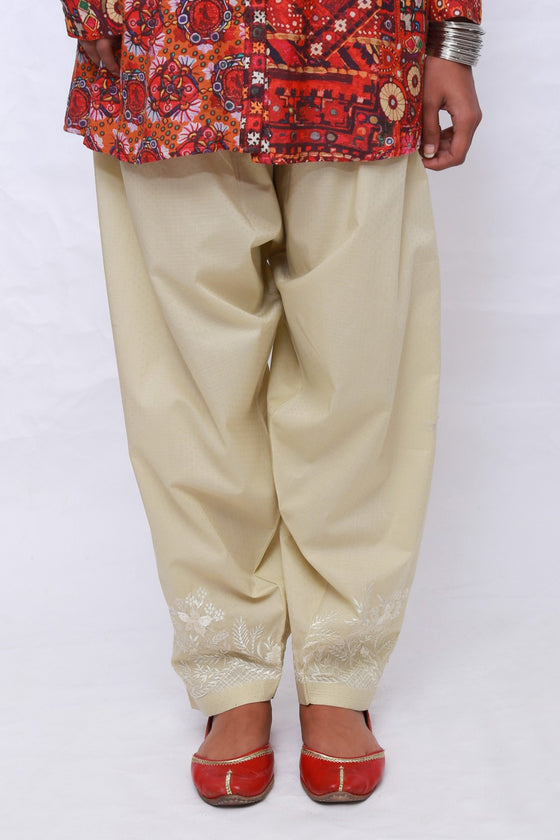 Generation - Skin Antique French Embroidery Shalwar