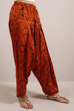 Generation - Orange Indus Craft Shalwar
