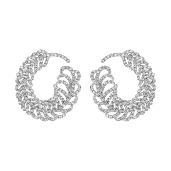 Amishi - Silver Earrings