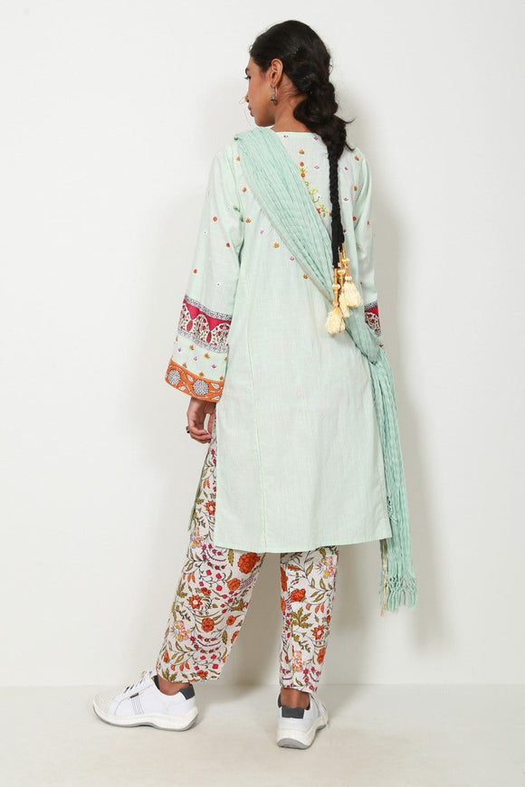 Generation - Sea Green Sarasa suit