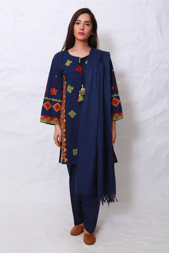 Generation - Blue Banjara Suit