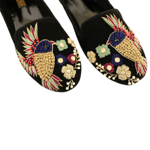 Soma - Tina Loafer Black Hand Crafted Footwear
