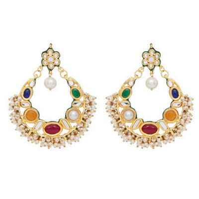 Red Dot Jewels - Rangeela Chaan Bali