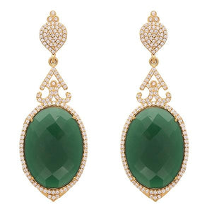 Red Dot Jewels - Emerald Green Turkish Delight