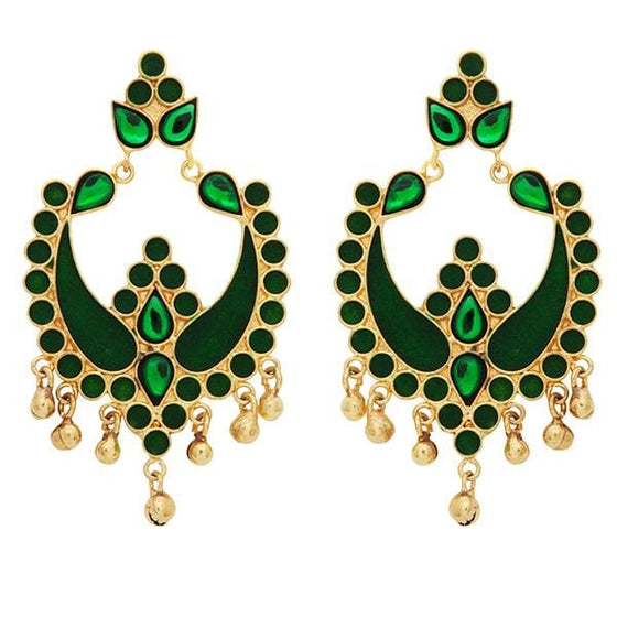 Red Dot Jewels - Green Payal