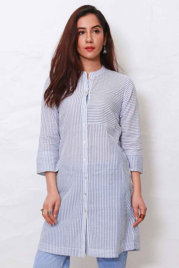 Generation - Blue Feminal Tunic