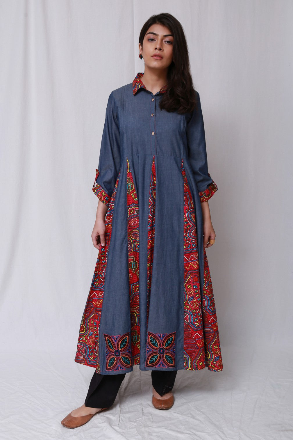 Generation - Blue Kuna Molas Anarkali