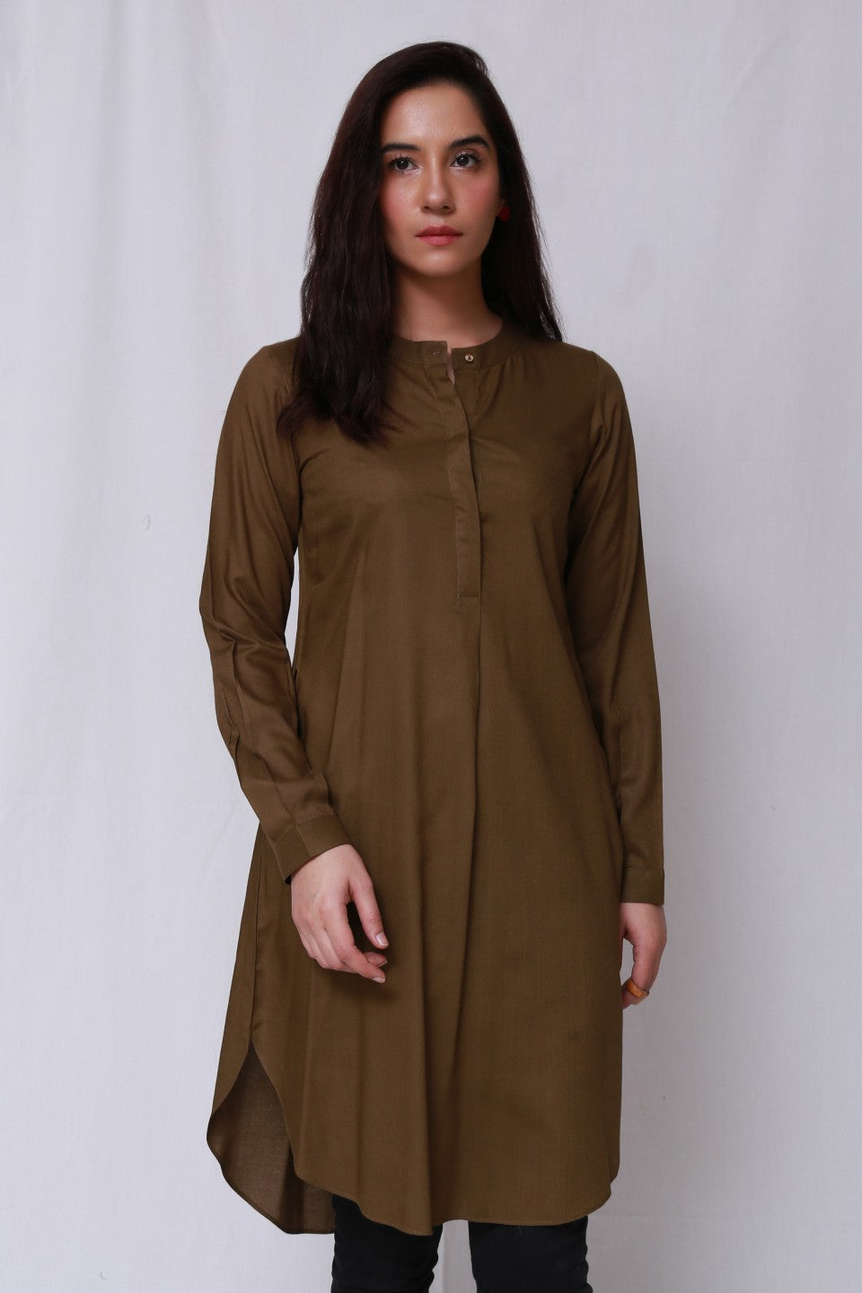 Generation - Brown Global Culture Tunic