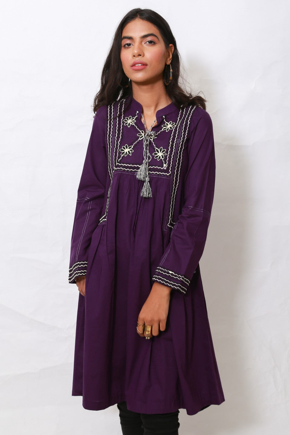Generation - Purple Nomads kurta