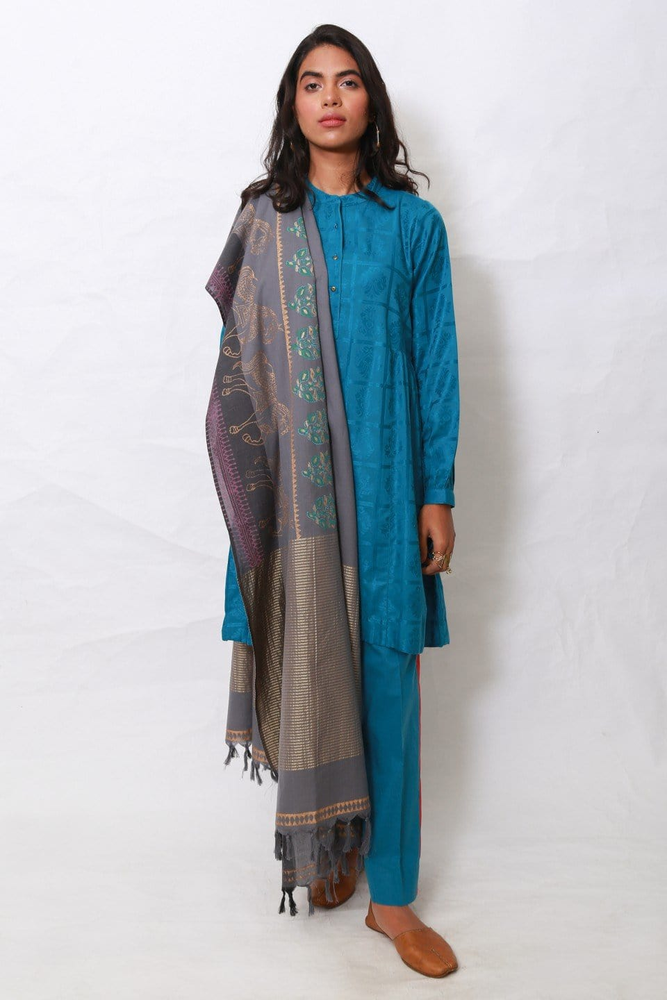 Generation - Blue Banaras suit