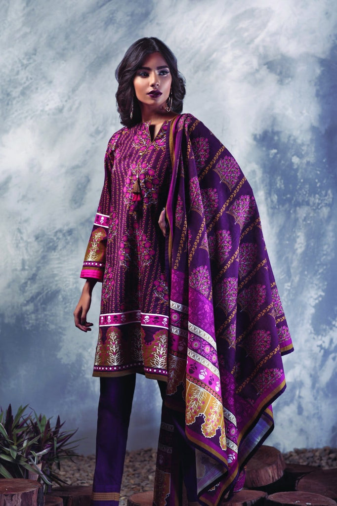 Bonanza Satrangi - Dark Purple Tantalize A Clearance Sale