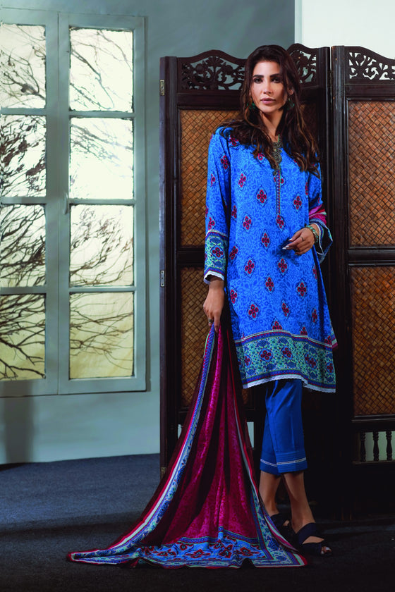 Bonanza Satrangi - BLUE RADIANT B - 3 PC