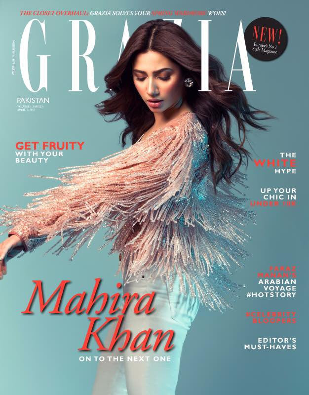 Grazia Pakistan April 1st Issue 2017