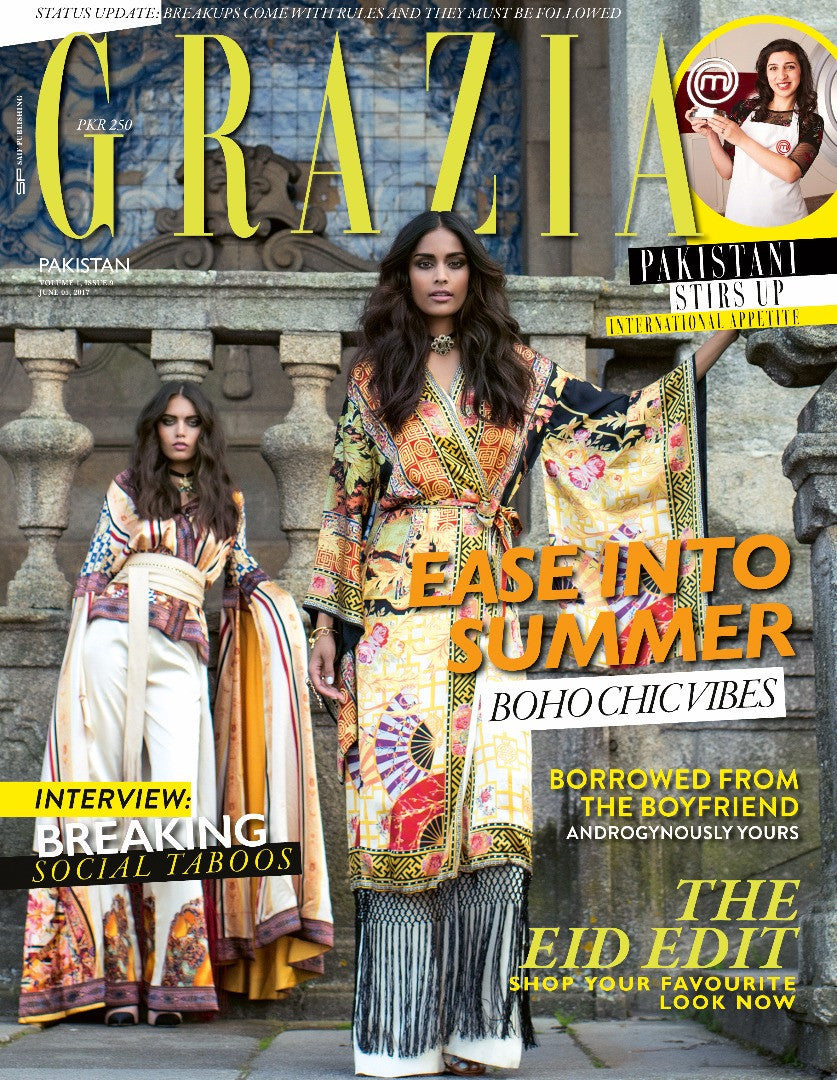 Grazia Pakistan June 1st Issue 2017