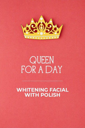 Blush Salon - Whitening Facial With Polish