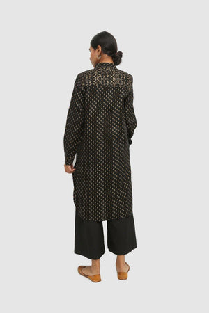 Generation - Black Sunheri Booti Shirt - 1 Pc