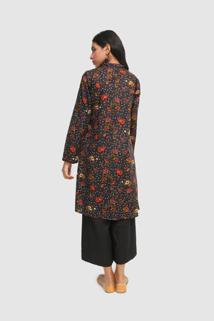 Generation - Black Bail Bootay Kurta - 1 Pc