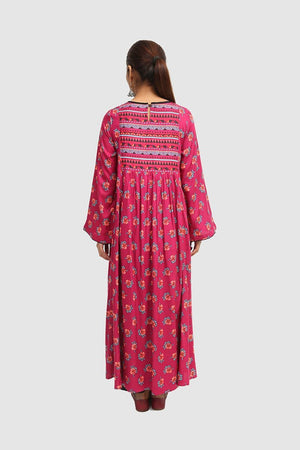 Generation - Plum Gulrukh Dress - 1 PC