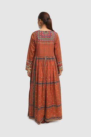 Generation - Brown Pomak Dress - 1 PC