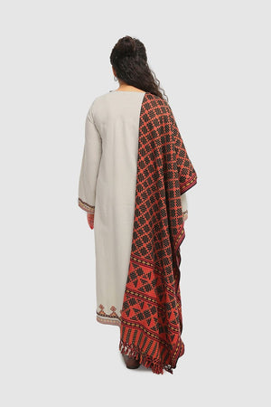 Generation - Grey Swati Wonders Suit - 3 PC