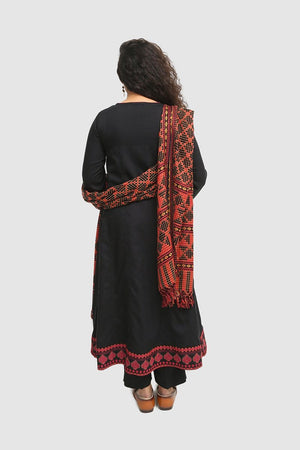 Generation - Black Swati Wonders Suit - 3 PC