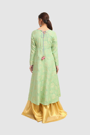 Generation - Sea Green Kanwal Kalidaar - 1 PC