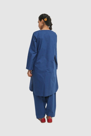 Generation - Blue Autumn Hues Embroidered - 2 PC