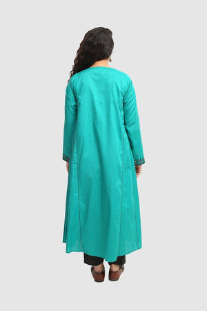 Generation - Green Midnight Palette Kurta - 1 PC