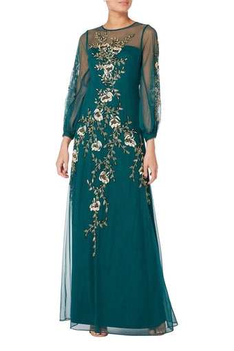 Raishma - Green Angelina Gown