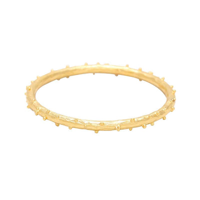 Vanessa Heaney - Moonscape Gold Bangle