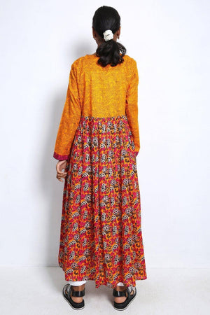 Generation - Orange Pinto Dress - 1 PC
