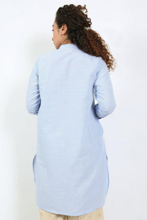Generation - Blue Bakhia Shirt - 1 PC