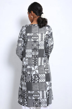 Generation - Black Yoruba Kurta - 1 PC