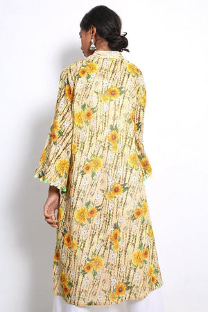 Generation - Yellow Ocean Flora Frock - 1 PC