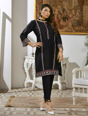 Khas Stores - Luxury Embroidered Tefta Pret Kurti KLS-57