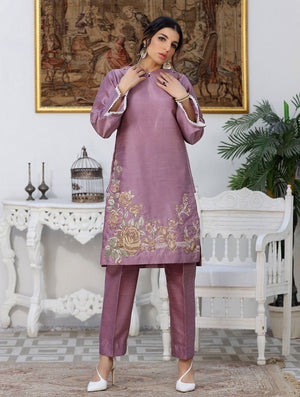 Khas Stores - Luxury Embroidered Tefta Pret Kurti KLS-62