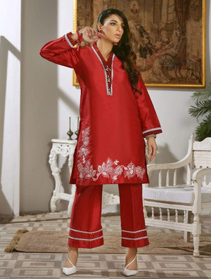 Khas Stores - Luxury Embroidered Tefta Pret Kurti KLS-65
