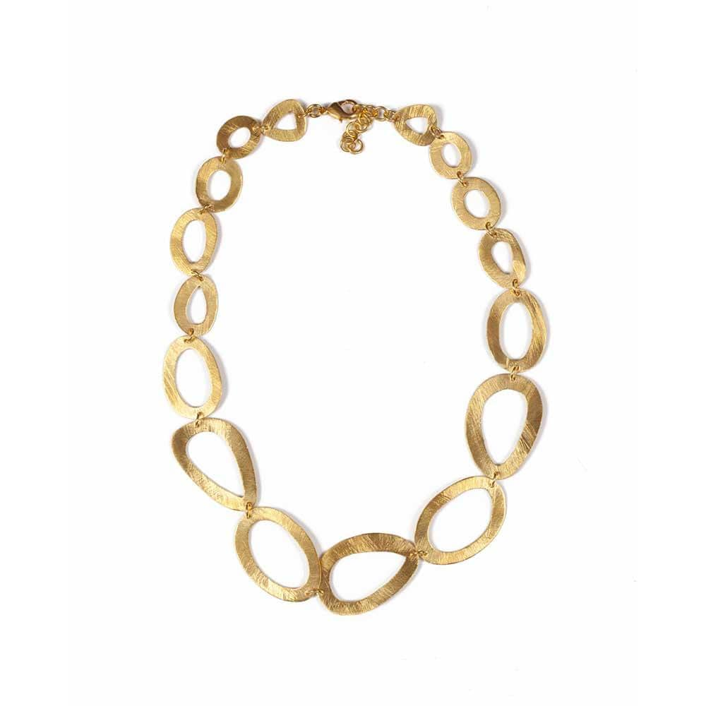 Vanessa Heaney - Signature Gold Necklace