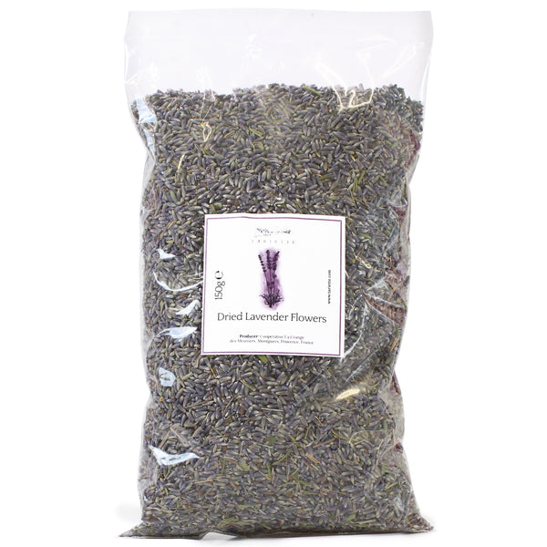 Bag of dried lavender flowers from Provence