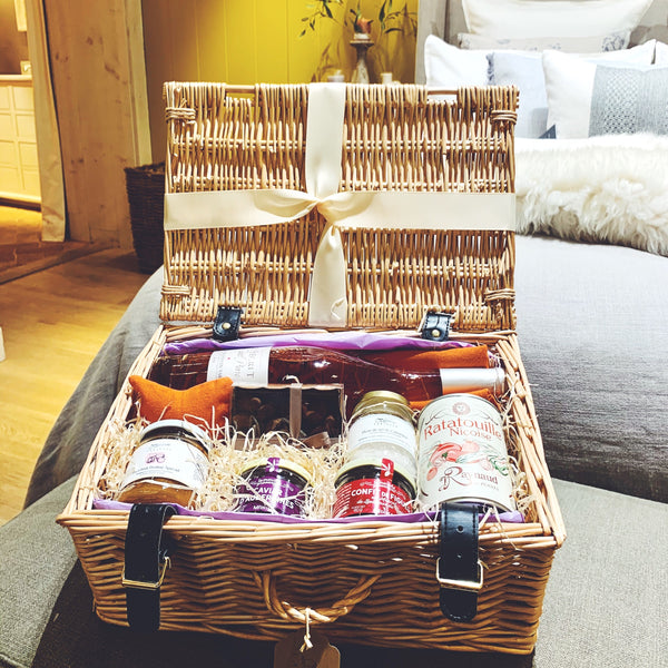 Hamper Fanette, perfect present for vegans