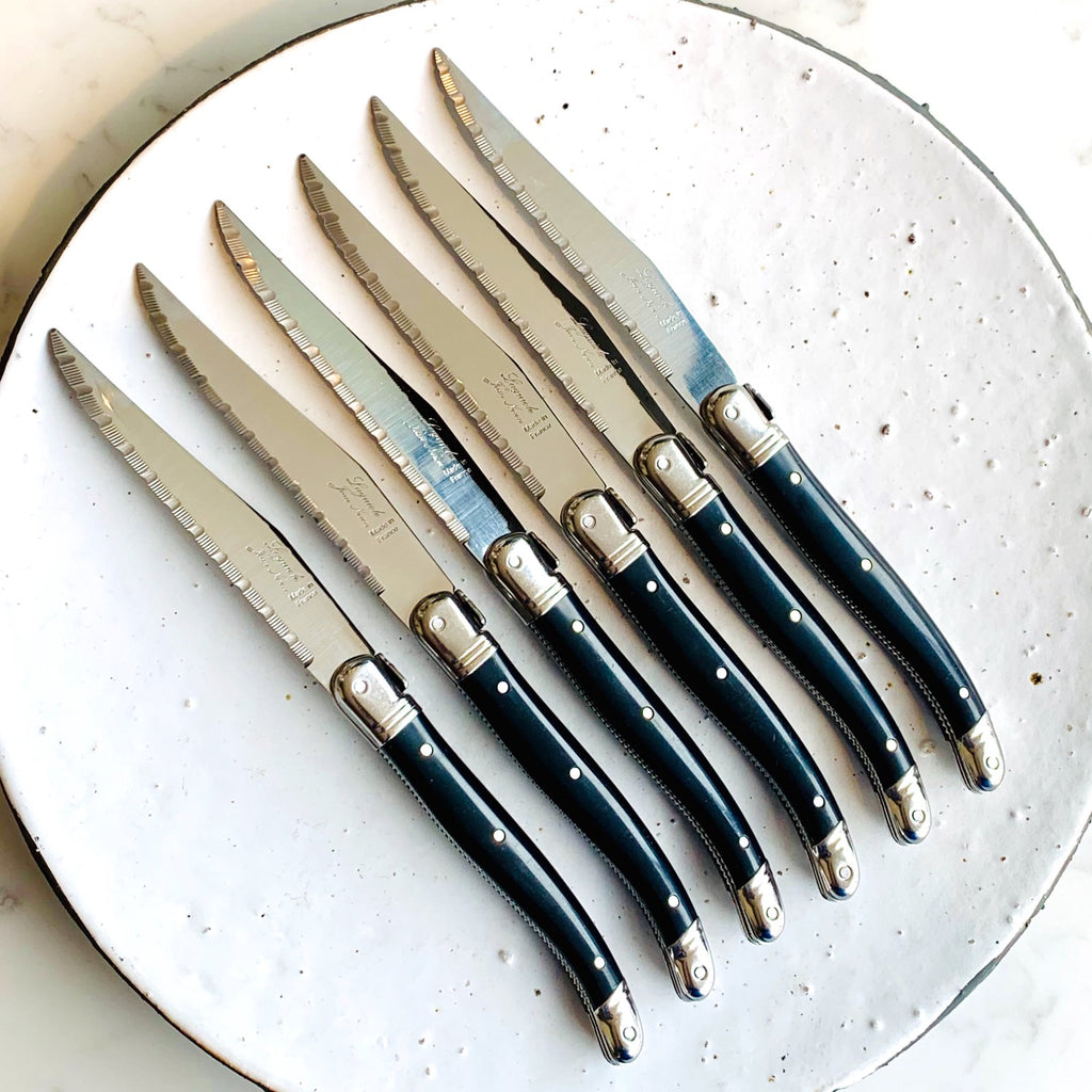 "Laguiole™ knives ""Table d'hôtes"" ABS - set of 6"