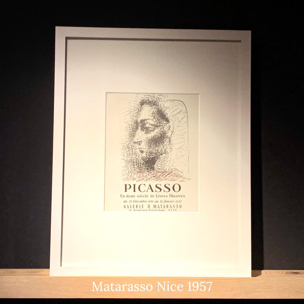 Pablo Picasso 1960s Framed Prints