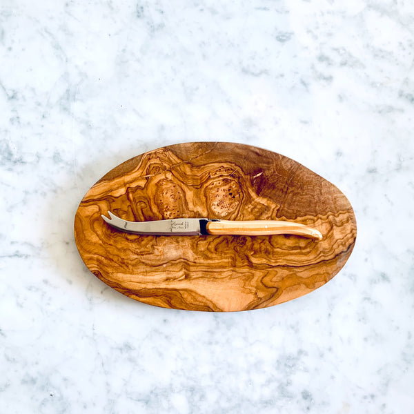 Olive wood cheese board - medium