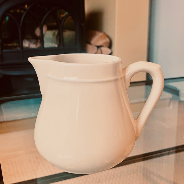 Porcelain water jug from France