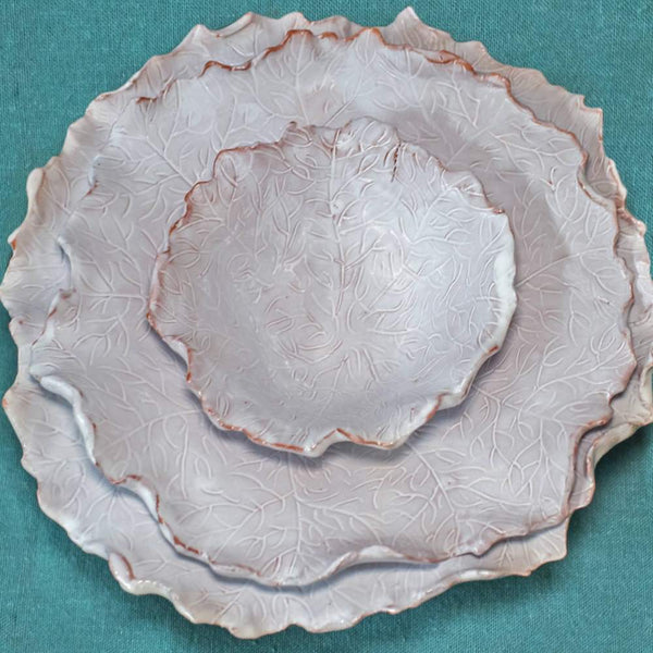 Ceramic batavia plate - from 14cm