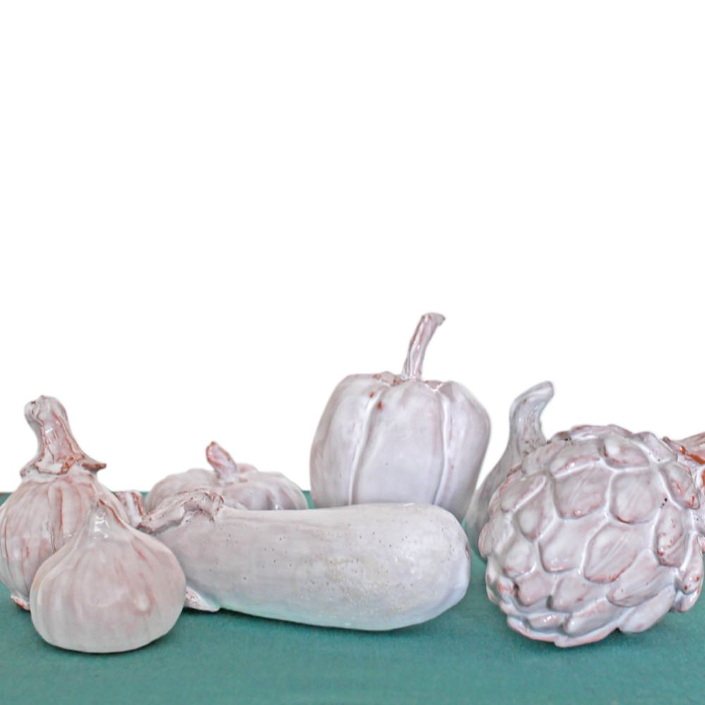 Ceramic pumpkin