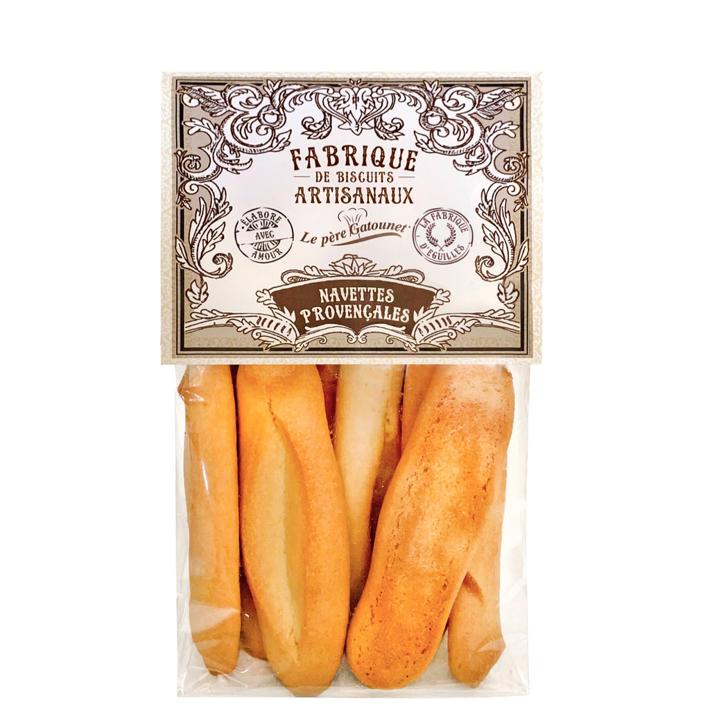 Artisan navette biscuits from Provence