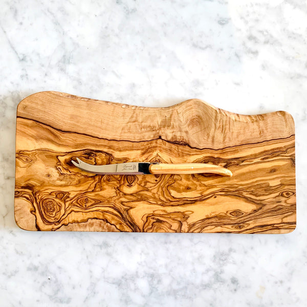 Olive wood cheese board - large